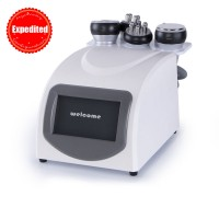 Tripolar RF Vacuum Cavitation Cellulite Removal Ultrasonic Slimming 5in1 Machine