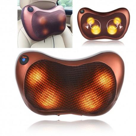 Shiatsu Pillow Massager With Heat Neck Back Shoulder Potable Car Home Use Device