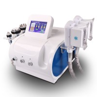 Double Handles Cooling Systerm Cavitation Rf Slimming Cellulite Removal Machine
